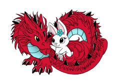 Dragon And Rabbit